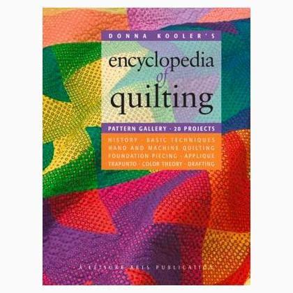 libro the encyclopedia of coloured encyclopedia of quilting donna kooler s de leisure arts