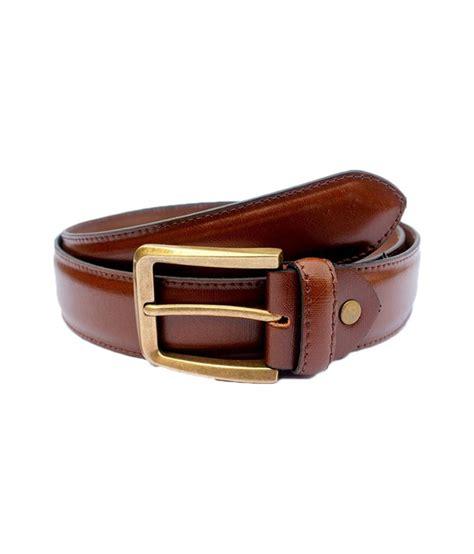 Formal Belt shayom brown leather formal belt buy at low price