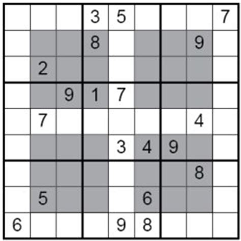 printable hyper sudoku hypersudoku puzzle
