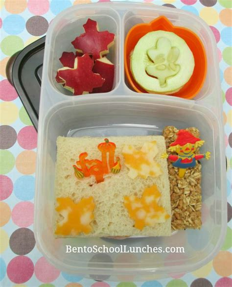 Bento Of The Week Fall Leaves by Bento School Lunches Fall Leaves Lunches