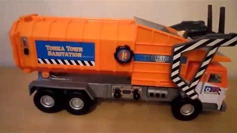 tonka mighty motorized truck tonka mighty motorized side loader garbage waste