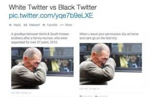 Twitter Meme - white twitter vs black twitter meme collection