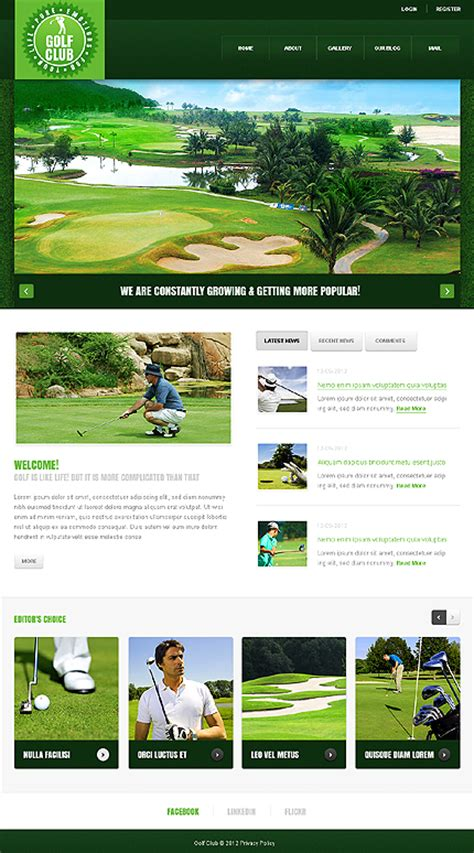 Love Nature With 20 Joomla Templates In Green Color School Club Website Template