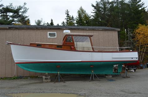 lobster boat conversion for sale 1979 ralph stanley downeast lobster yacht power boat for