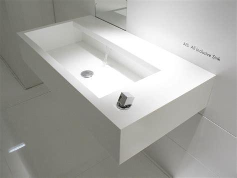 sanitari in corian lavabo sospeso in corian 174 ais by moab 80 design fabrizio