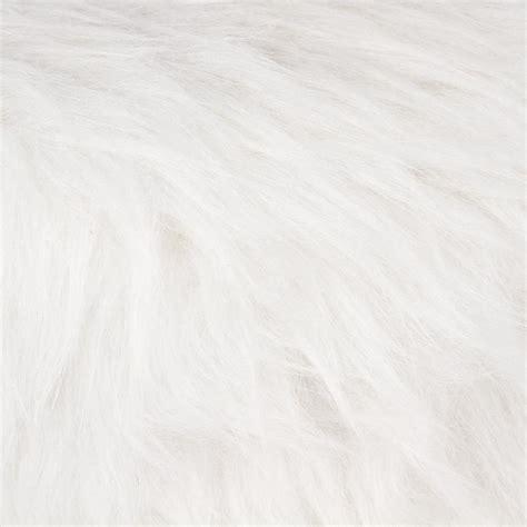 Tabouret Fourrure Blanc by Tabouret Imitation Fourrure Quot Instants Nature Quot 42cm Blanc