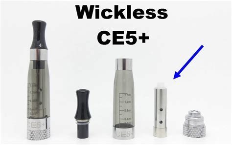 Wickless L replacement coil ce5 wickless style clearomizer