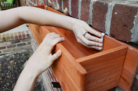 how to attach a window box challenge planting hanging window