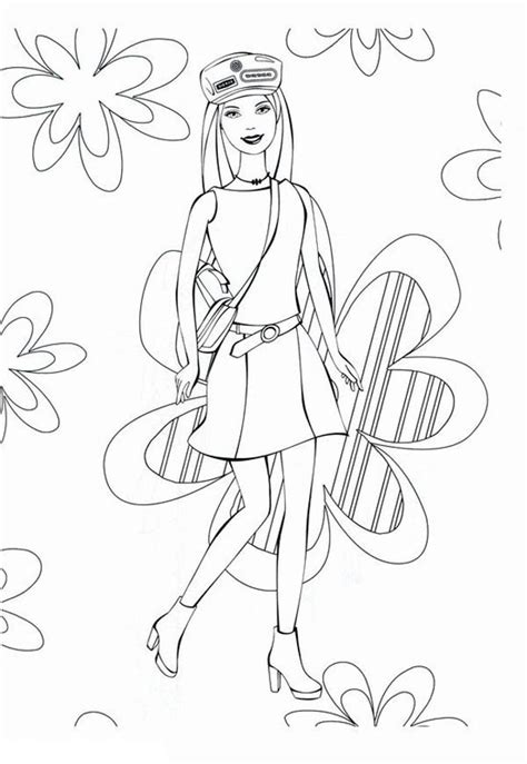 fashion model photoshoot coloring page coloring sky