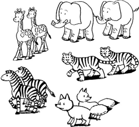 aardvark to zebra animals of africa coloring book books fichas laminas de animales para colorear colorear y