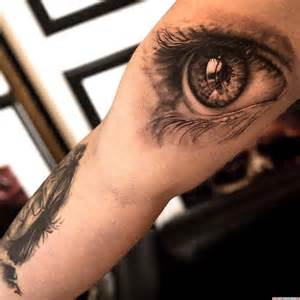 tattoovorlage 3d auge oberarm tattoo