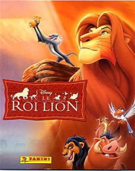 film roi lion 1 le roi lion disney panini 2003 dessins anim 233 s au cin 233 ma