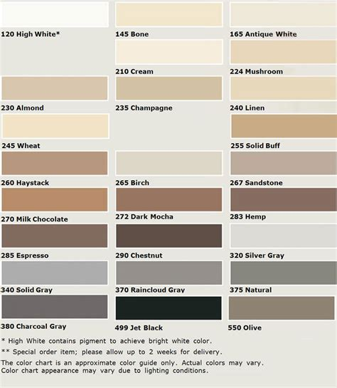 fusion pro grout colors 8 best images of fusion grout color chart custom