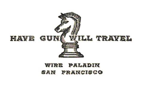 gun will travel business card template gun will travel