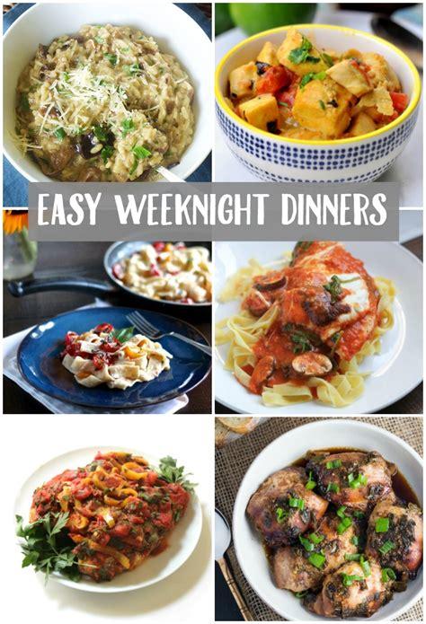 weeknight dinner easy weeknight dinner ideas create crave bradford