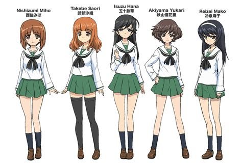 anime uniform girls und panzer school uniforms jpg 930 215 640 girls und