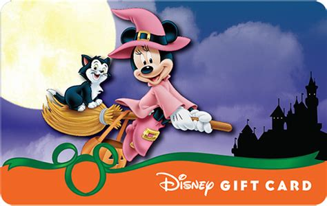 Disney Gift Cards Disneyland Paris - new halloween designs in park halloween disney gift cards have glowing surprise