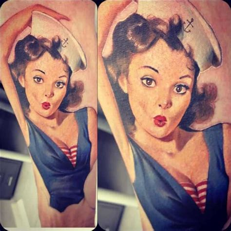 pin up girls tattoos for men pin up tattoos for ideas and inspiration for guys