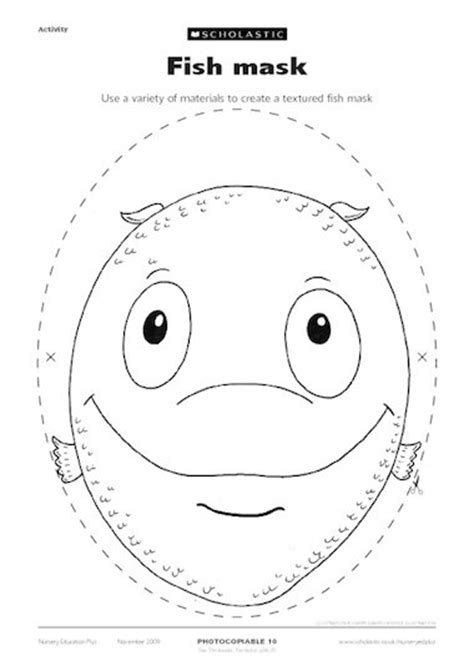 printable fish mask template printable fish mask www imgkid com the image kid has it