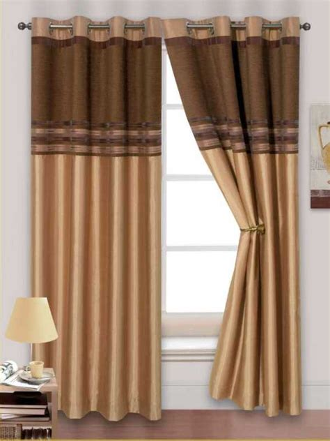 cream and chocolate curtains renatta faux silk chenille eyelet curtains from century