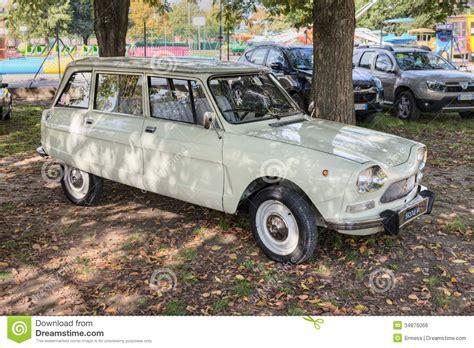 vintage citroen vintage car citroen ami 8 editorial photo image of