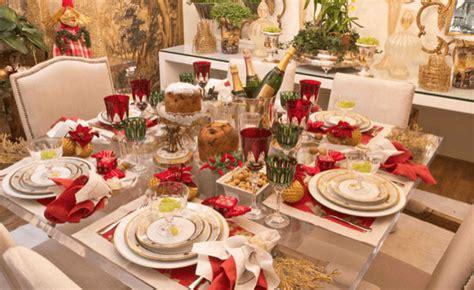 dicas para decorar mesa de natal decorar a mesa de natal 4 dicas de decora 231 227 o e enfeites e