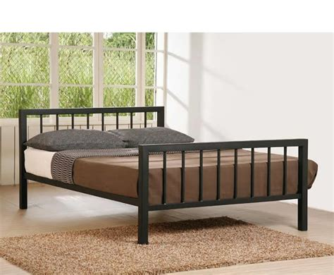 small double bed uk margate small double 4ft black metal bed