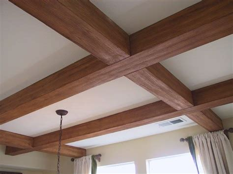 beams in ceiling wainscoting crown molding baseboards chair rails