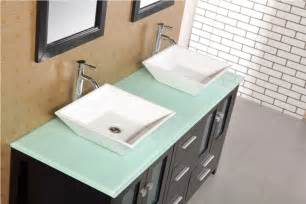 bathroom vanity sink tops adorna 61 quot sink bathroom vanity set solid wood