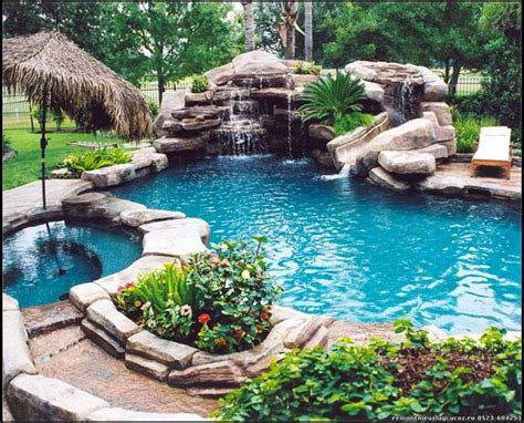 backyard awesome pools pinterest backyard pool dream home pinterest