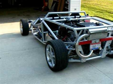 home built car plans ariel atom inspired homebuilt v 8 project car youtube