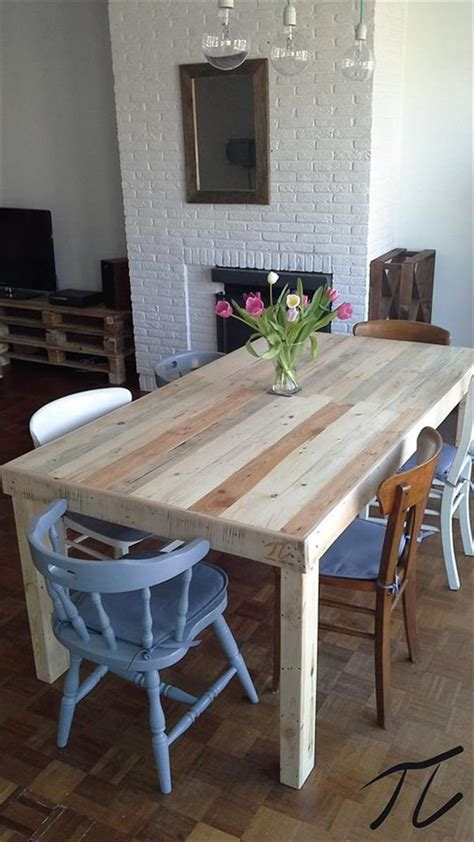 diy pallet dining table pallet furniture diy