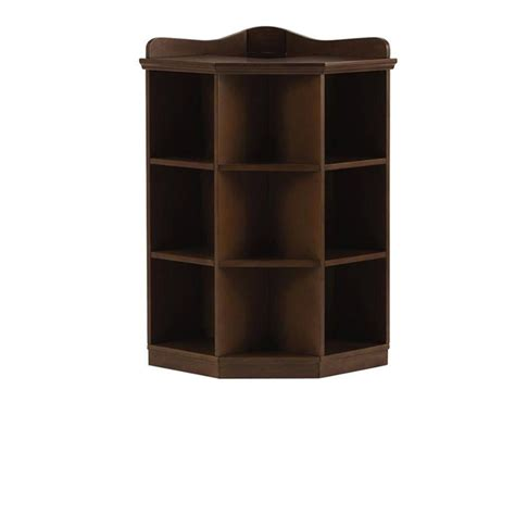 home decorators collection 3 shelf brown wood tone