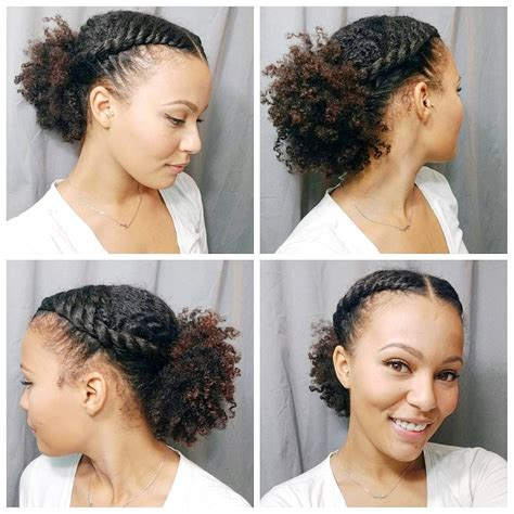 hairstyles puff flat twists and a low puff hair flair pinterest