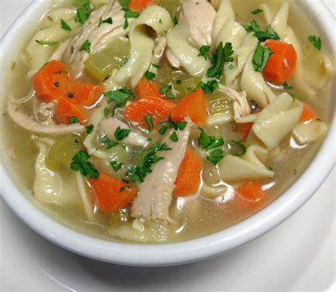 easy homemade chicken noodle soup made from scratch