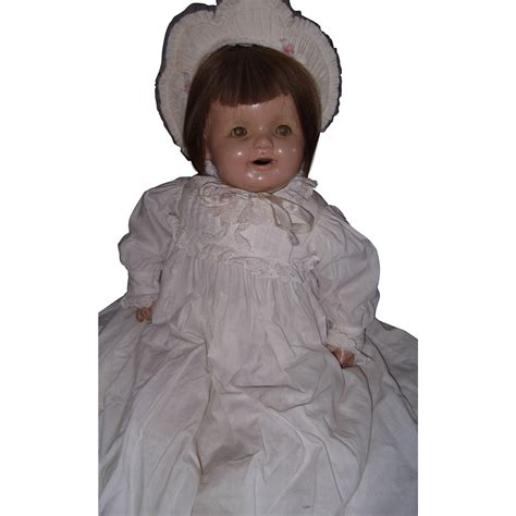 composition baby doll large precious composition baby doll from mydollymarket2