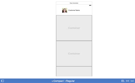 layout ios xcode ios how to design a large view in xcode stack overflow