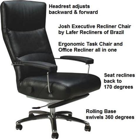 josh recliner lafer executive recliner josh leather office