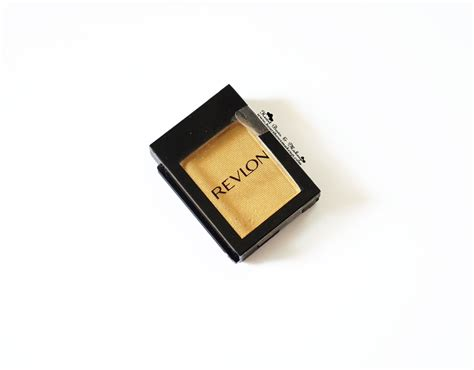 Eyeshadow Revlon Review revlon colorstay shadow links gold review swatches