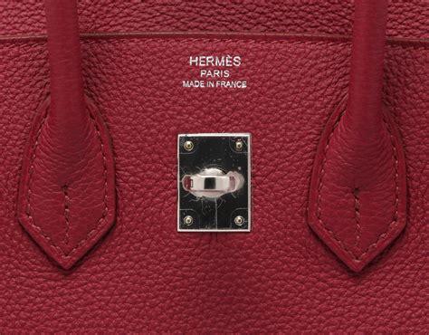 Hermess Togo hermes rubis togo birkin bag 35 cm phw ruby hermes