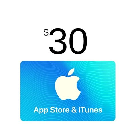 30 Itunes Gift Card - itunes gift card 30 usa app store scheda up