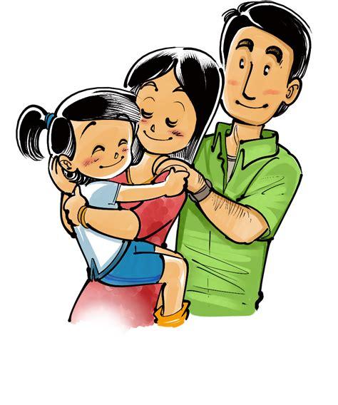 Imagenes Animadas De Amor En Familia | ivanevsky dibujos de familia family draws