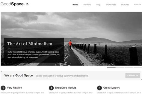 wordpress themes free black and white the best clean responsive wordpress premium themes