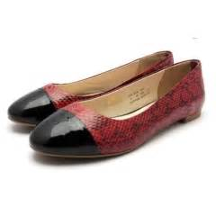 Flat Shoes Import Black Pink bowtie gold and black flat shoes from china