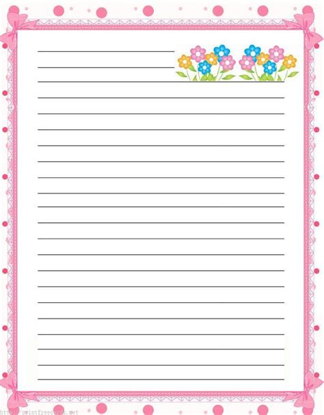 printable lined paper with border free free lined handwriting paper with border odds and sods