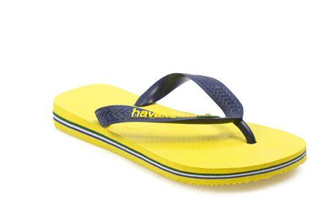 sandals and flip flops havaianas brasil logo toddler yellow rubber flip