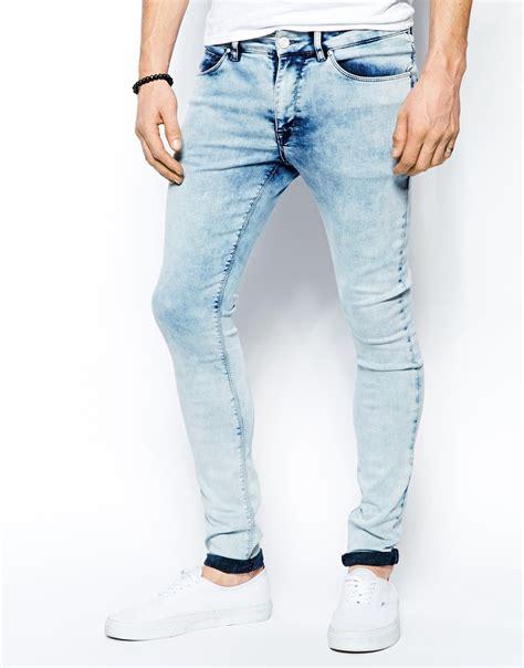 super light wash jeans washed jeans mens ye jean