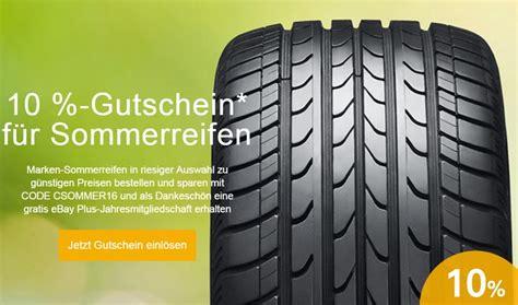 Ebay 10 Prozent Motorrad by Sommerreifen Gutschein 10 Rabatt Bei Ebay Bis 19 4 2017
