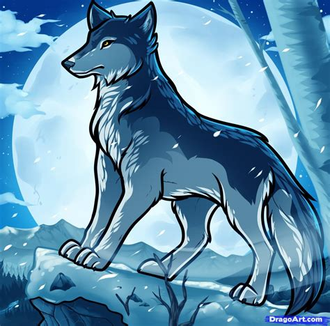 imagenes de anime wolves how to draw anime wolves anime wolves step by step