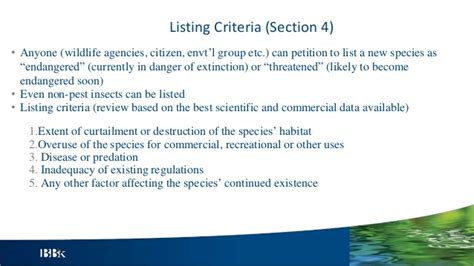 endangered species act section 9 the federal endangered species act